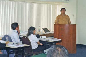 David Arteaga, expositor del Curso SEI: Introduction to CMMI v.1.2